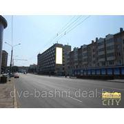 Наружная реклама, рекламная площадь по ул. Кальварийская, 1, 6х15 м (общая площадь 90 м2), торец здания фото