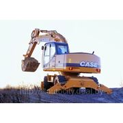 Аренда колёсного экскаватора Case-Poclain 688P с оператором фото