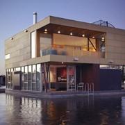 Понтоны, дебаркадеры, плавдачи, дома на воде, houseboat фото