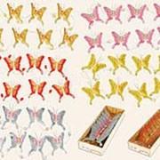 Гирлянда из бабочек (8шт), 8см 1701 фото