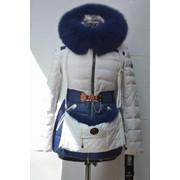 Куртка женская пуховик 13021 фото