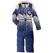 Зимний костюм для девочки №1802-3207 86 фото