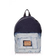 Рюкзак Poolparty backpack-jeans Bleach фото