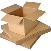 Коробки из картона хром-эрзац фото