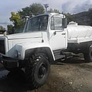 Автоцистерна пищевая ГАЗ 33086 (Земляк) молоковоз / водовоз, 4х4 фото