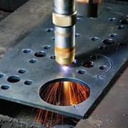 Лазерная резка листовой стали (черной,н/ж) на стан фото
