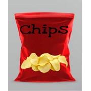 Упаковка для чипсов из полипропиленовой пленки фото