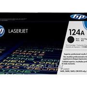 Картридж HP 124A (Q6000A) Black Original LaserJet Toner Cartridge фото