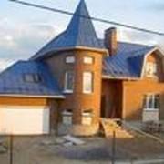 Строительство капитальное, строительство домов и коттеджей по типовым и индивидуальным проектам. фото