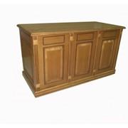 Стол бюро Viitorul светло-коричневый фото