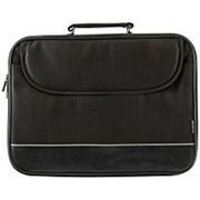 Сумка для ноутбука 16 Defender - Ascetic (портфель на ремне), чёрная фото