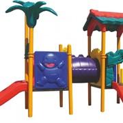 Детские игровые комплексы, Пластиковые горки фото