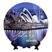 Сувенирная тарелка Австралия-Сидней фото