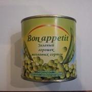 Горошек консервированный, зеленый горошек фото