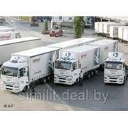 Доставка сборных грузов из Европы в РБ. фото