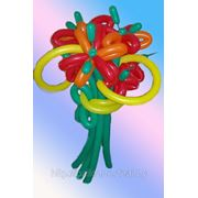 Воздушные шары. Букет из ШДМ. фото