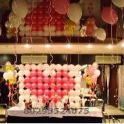 Воздушные шары для свадьбы. Праздничное оформление, украшение зала. Воздушные шары.. фото