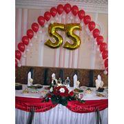 Оформление Юбилеев,выпускных, детских праздников шарами, цветами фото