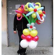 Цветы из шаров. арт.10011 фото