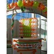 Воздушные шары для выставочного стенда фото