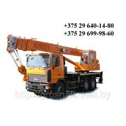 Услуги автокранов 14-25 тонн фото