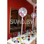 Оформление воздушными шарами. Шар 45см. фото