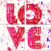 Модульная картина Любовь , Неизвестен фото