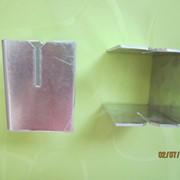 Салазка алюминиевая с прорезью фото