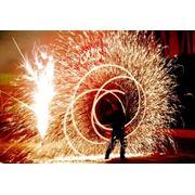 Фаер-шоу на праздник в Минске. Выезд по Беларуси и СНГ. Разные варианты программ! фото