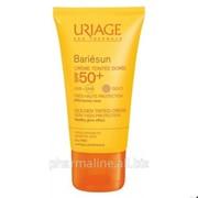 Uriage Барьесан SPF 50+ Тональный крем с тонким ароматом (золотистый оттенок) (50 мл) фото