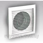 Решетка вентиляционная приточно-вытяжная АБС 150х150 мм, с фланцем диаметр 100 мм фото