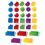 Наклейка цветная фото