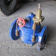 Регулятор давления чугунный фланцевый после себя 200Х-10, Ду 125 мм, Масса 40 кг, Длинна 340 мм фото