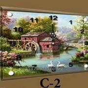 Часы C-2, 30х40 фото