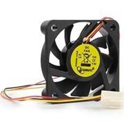 Вентилятор 12 вольт 50 x 10 втулка скольжения 3pin 25см 4500 об*мин Gembird D50SM-12AS фото