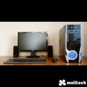 Компьютер (Core i3) в корпусе HuntKey с LCD-монитором фото