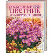 Роскошный цветник из многолетников фото