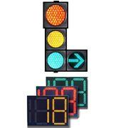 Светофор с таймером LED Traffic Lights Zhaga фото
