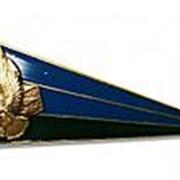 Кокарда уголок (флажок) на берет (пилотку) ВДВ, малый, сине-зеленый фото