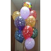 Составление букетовы и композиций из воздушных шаров фото