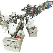 Экструзионная линия для однослойных и многослойных листов из АБС, ПС, ПMMA, УПС фото