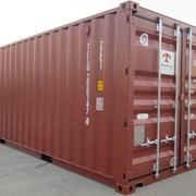 Морской контейнер 20 (двадцати) футовый. Казахстан фото
