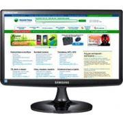 """Монитор Samsung - 185"""" LS19A10NS BLACK LCD MONITOR фото"""