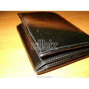 Аксессуары мужские Бумажники кожаные фото