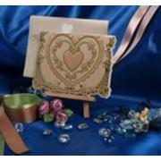 Открытка и конверт Золотая Эйфория фото