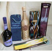 Подарочные пакеты для бутылок. фото