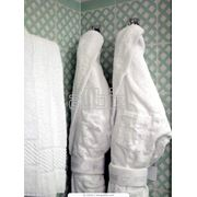 Махровый халат мужской фото