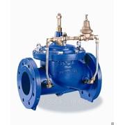 Регулятор давления чугунный фланцевый после себя 200Х-7, Ду 250 мм, Масса 117 кг, Длинна 550 мм фото