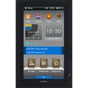 Электронная книга teXet TB-710HD 4 ГБ черный фото