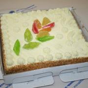 Торт Творожный с цукатами фото